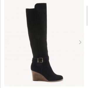 Sole Society Paloma wedge boots